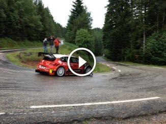 Vidéo Loeb au volant de la C3 WRC
