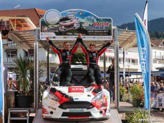 Rallye Vosgien 2017 : Wagner première