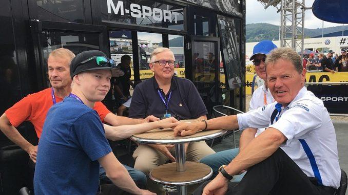 Kalle Rovanpera signe chez M-Sport