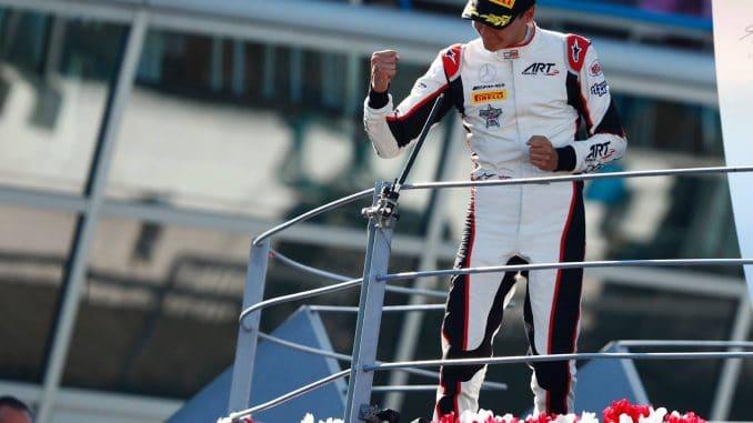 Russell a largement dominé le championnat de GP3 pour sa première saison en championnat du monde