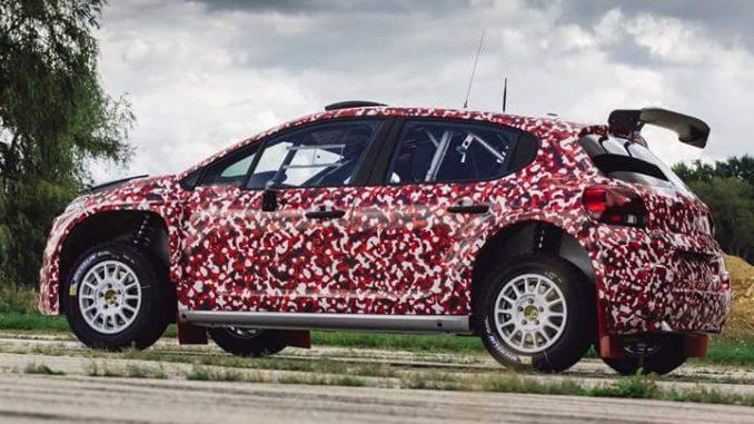 Citroën C3 R5 : premières images