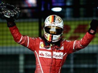 F1 : Vettel en Pole à Singapour