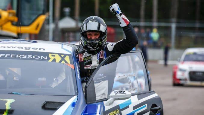 World RX Lettonie 2017 : titre, podium et clavicule