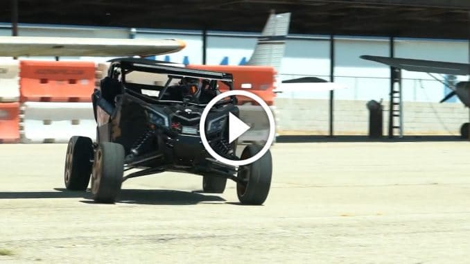 Ken Block et son Can-Am X3 XRS