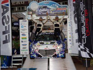 Rallye Vosgien 2017 : Programme et Engagés