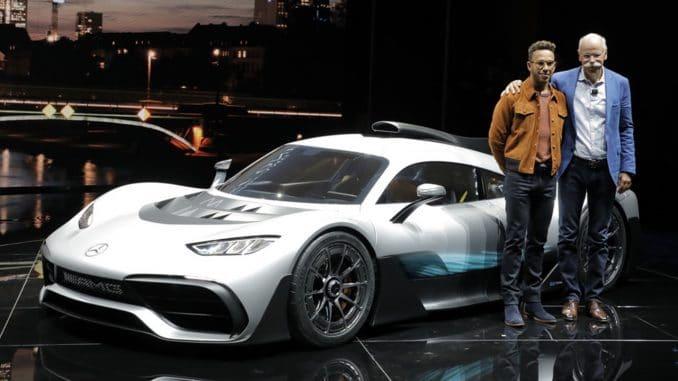 Mercedes projet One : La F1 de route !