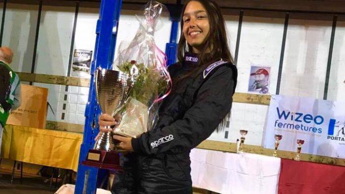 Stella Azara-Mariani au Rallye des Noix de Firminy 2017