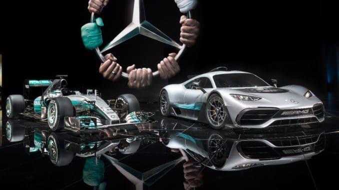 Mercedes projet One : La F1 de route