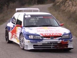 La 306 maxi de Loeb refaite à neuf ...