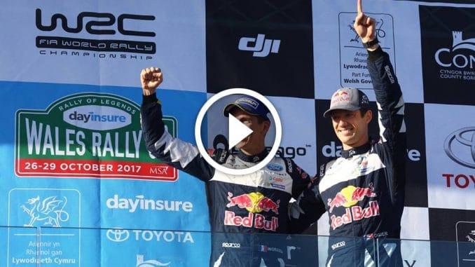 Vidéos Rallye Grande-Bretagne 2017