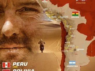 Parcours du Dakar 2018