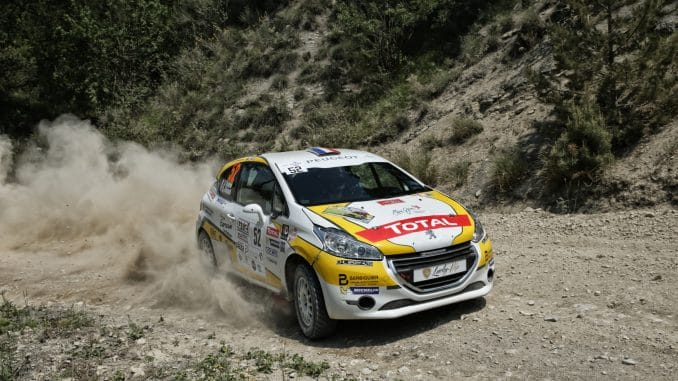Calendrier 208 Rally Cup 2018