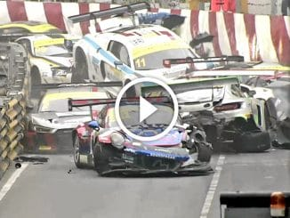 Video Crash de GT3 à Macao