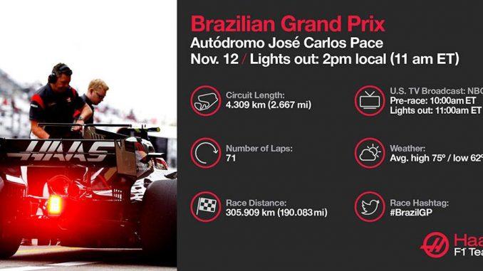 Programme TV GP du Brésil 2017