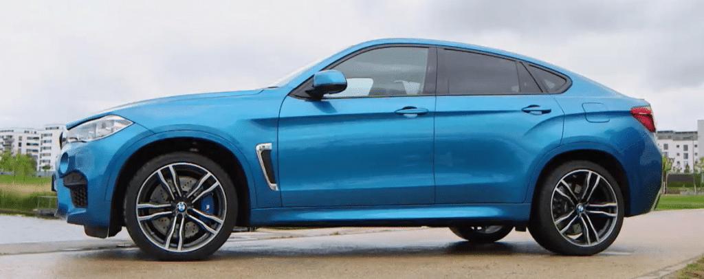 BMW X6 M : Taxes sur les voitures sportives en 2018