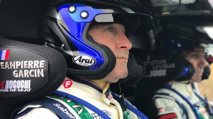 Jean-Pierre Garcin, concentré avant le Dakar 2018.