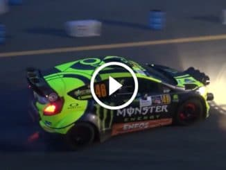 Monza Rally Show 2017 : Rossi flambe