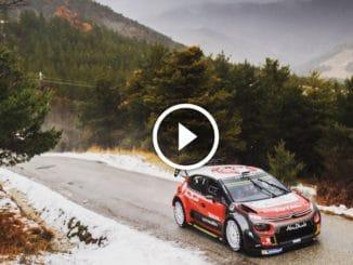 Test pré Monte-Carlo 2018 Citroën