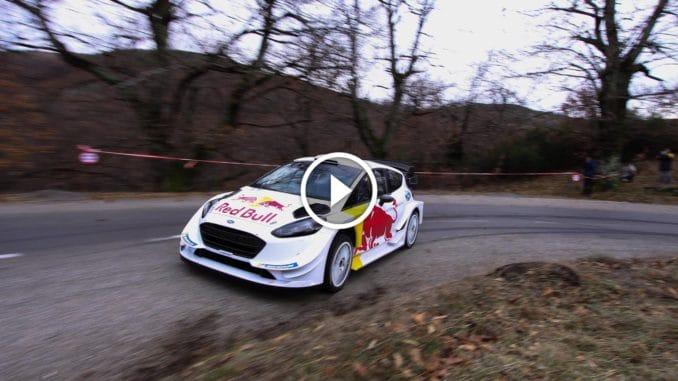 Test pré Monte-Carlo 2018 Ford