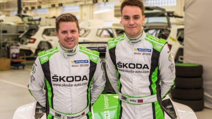 De nouveaux coéquipiers et adversaires pour Veiby. (c) : Skoda Motorsport