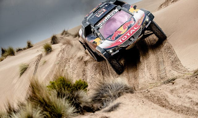 Dakar 2018 : Carlos Sainz - Peugeot 3008DKR Maxi. (c) : Peugeot Sport