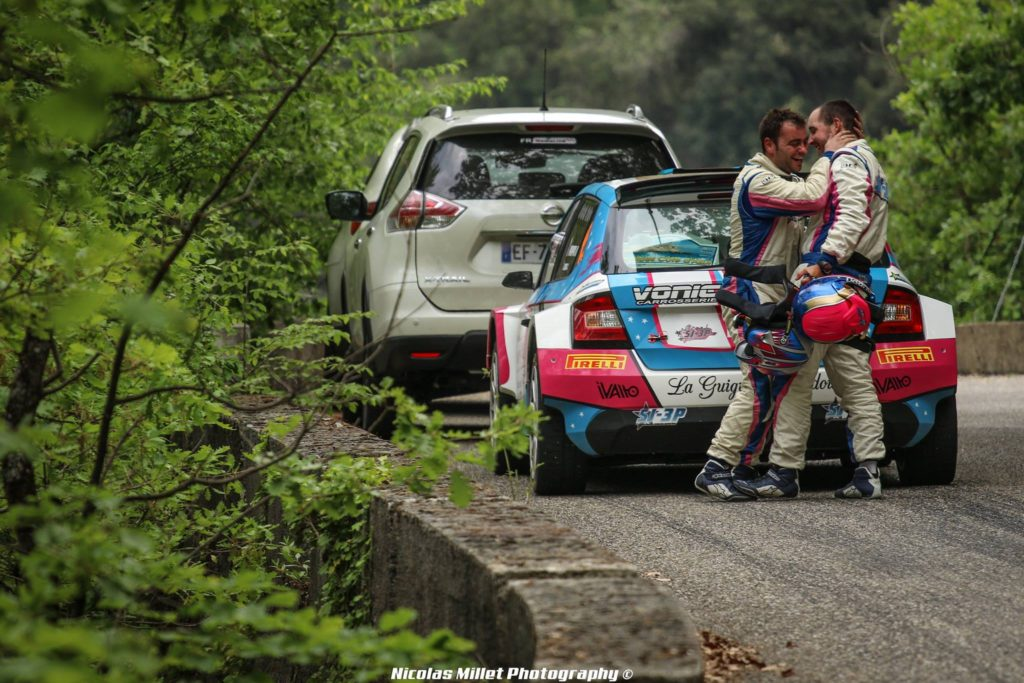 Interview : Jérémy Cenci co-pilote de rallye