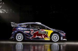 Ford Fiesta WRC M-Sport 2018 Evans