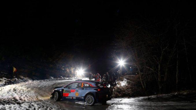 Rallye Monte-Carlo 2018. Thierry Neuville (Hyundai i20 WRC) perd toutes chances dès la première ES