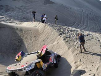 Dakar 2018 Etape 5 : Loeb out, Elena blessé