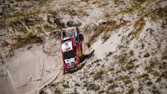 Dakar 2018 Etape 12 : encore Toyota avec Nasser Al Attiyah