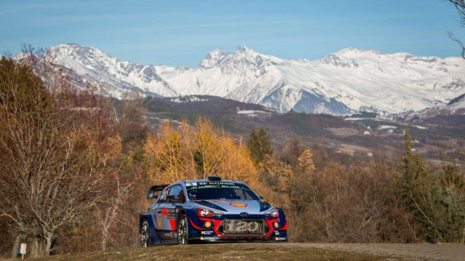 Shakedown Rallye Monte-Carlo 2018