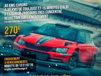 Présentation Rallye Coeur des Vignobles 2018