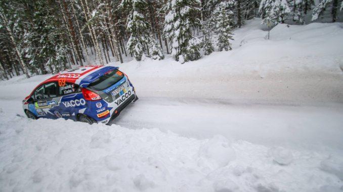 Rallye Suède 2018 : JB Franceschi apprend vite.