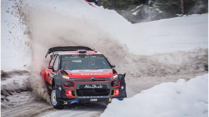 Abandons Rallye Suède 2018. Kris Meeke.