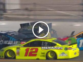 NASCAR 2018 : Crash lors du Clash