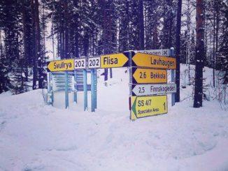 Parcours du Rallye de Suède 2018
