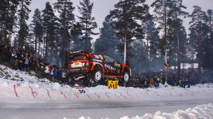 Colins Crest - Programme TV Rallye de Suède 2018