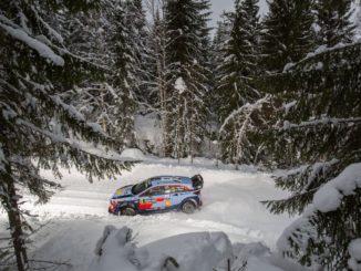 Shakedown Rallye Suède 2018