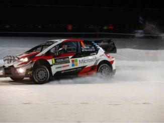 Rallye Suède 2018 - ES1 : Tanak premier leader