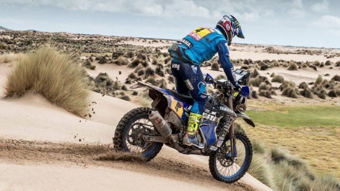 Adrien Van Beveren lors du Dakar 2018