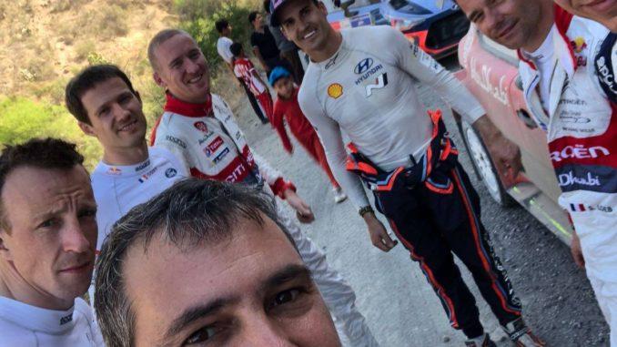 """Elena : """"il n'a fait que progresser depuis notre retrait du WRC"""""""