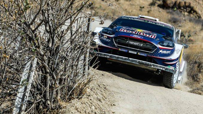 Classement Rallye du Mexique 2018