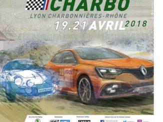 Rallye Lyon Charbonnières 2018 : présentation (Affiche Lyon Charbo 2018)