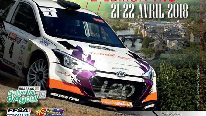 Rallye du Val d'Agout 2018 : Présentation