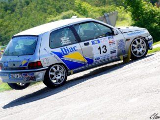 Des Clio Groupe A au Rallye du Frontonnais