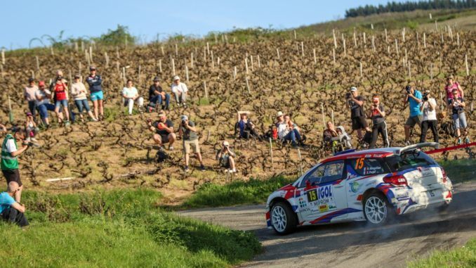 """Hugo Margaillan : """"la DS3 R5 reste très performante sur asphalte"""""""