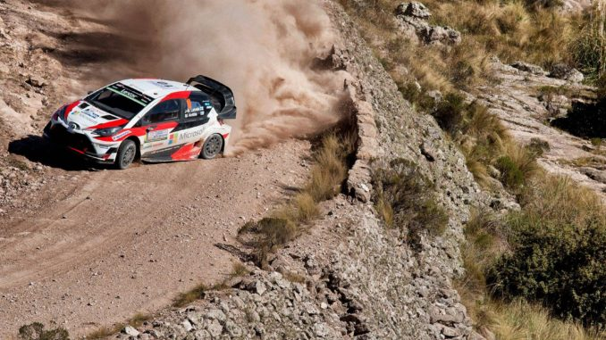 Shakedown Rallye Argentine 2018