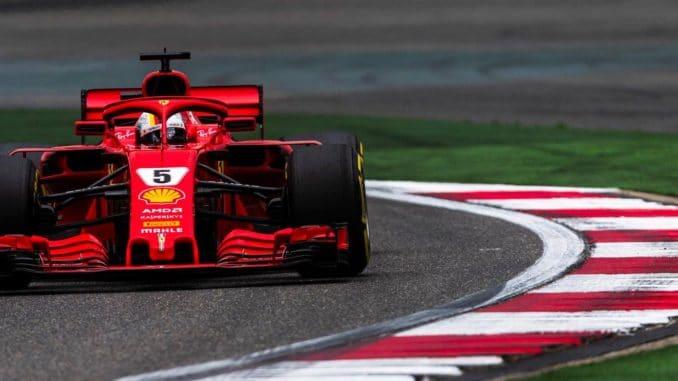 F1 : Vettel décroche la Pole en Chine