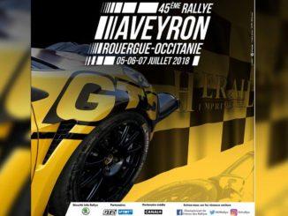 Programme et cartes Rallye Rouergue 2018