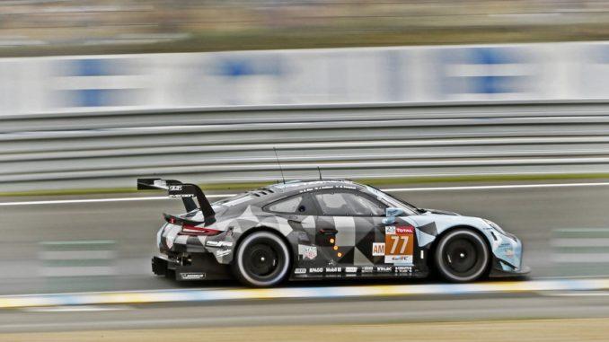 Le Team de Patrick Dempsey remporte la catégorie GTE Am avecMatthew Campbell, Christian Ried et Julien Andlauer. Photo (c) : Porsche